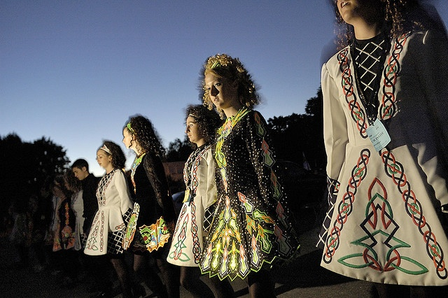 Irish Dancers at Celtic Festival