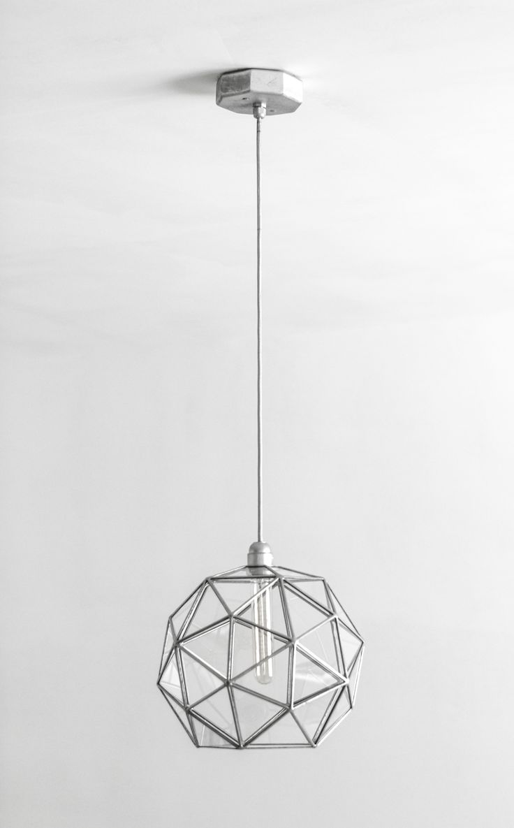 retro modern lighting. Stereometric Universe Big Geometric Chandelier / Pentakis Dodecahedron Glass Lighting Warm Vintage Bulb Lamp Retro Modern Pendant Lights