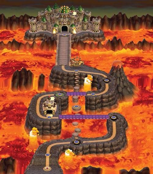 13 best new super mario bros wii images on pinterest world 8 from the official artwork set for new supermariobros on wii gumiabroncs Gallery