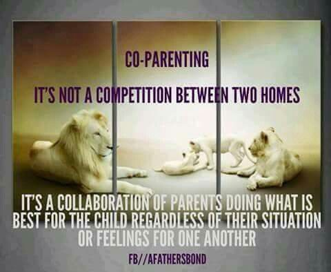 Co-Parenting ... it's NOT about the parents.  It's ALL about the kids.  ♡♡♡