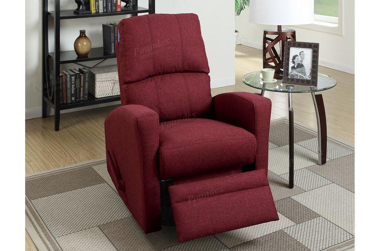 Poundex Poundex Swivel Recliner Chair F1531