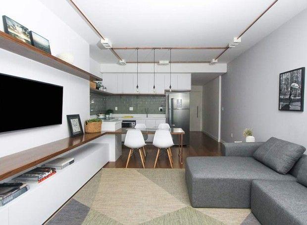 Decorações diferentes em apartamentos com a mesma planta