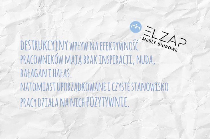 Poniedziałkowa ciekawostka od Elzap 😁  #elzap #meble #praca  #biuro #ciekawostka #efektywność