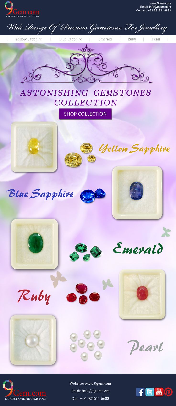 Gemstone information a list of precious and semi precious gemstones - Due To Their Exceptional Quality Criteria Only Few Gemstones Make It In The List Of Precious Gemstones