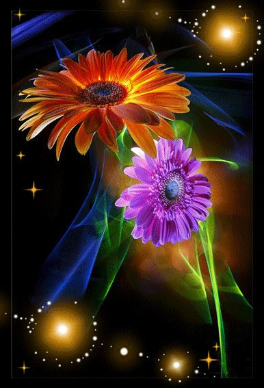 bright flowers in flower ~A collection of CLICK ON THE PICTURE (gif) AN WATCH IT COME TO LIFE. ....♡♥♡♥♡♥Love★it