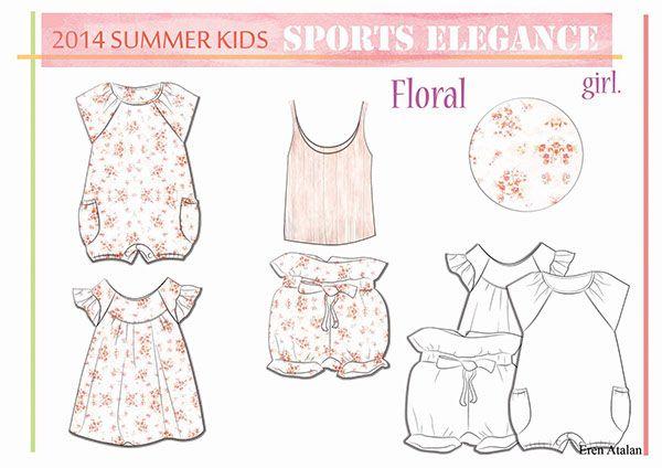 Kids Fashion 2014 Summer on Behance