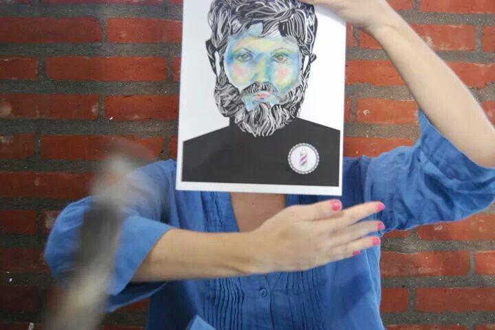 Daniela Barbadillo, Héroes. Yo también soy Char~Lee Mito. Barba historia