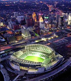 Paul Brown Stadium - home of the Bengals