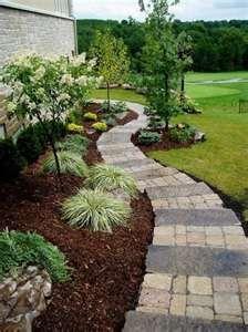 Around the house garden ideas