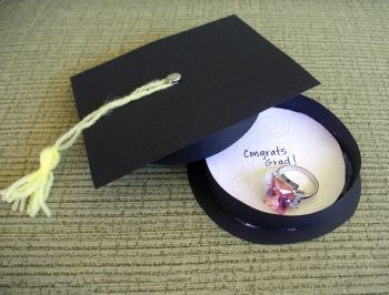 Quick Graduation card/gift box & tutorial link - PAPER CRAFTS, SCRAPBOOKING & ATCs (ARTIST TRADING CARDS)