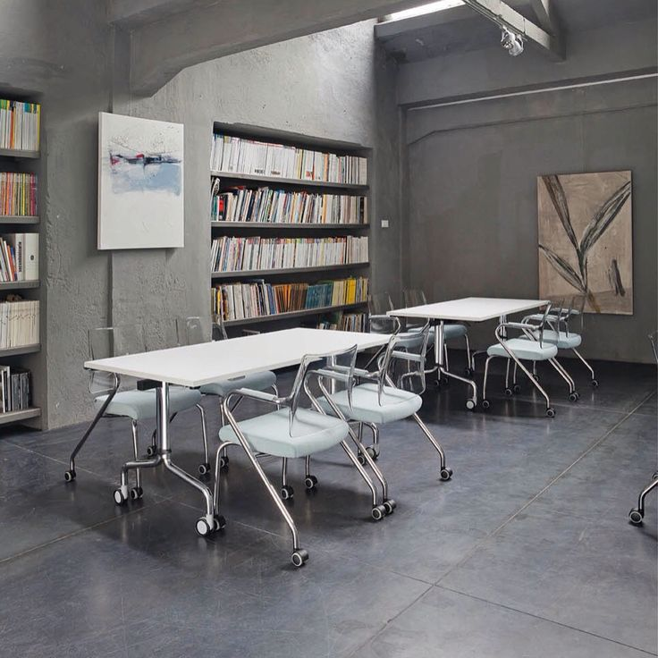 Multi-functional Corner folding #table & Free #officechair by #emmegi