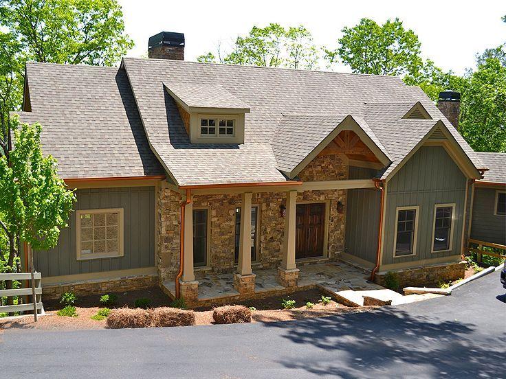 109 best Empty Nester House Plans images on Pinterest 3 car garage