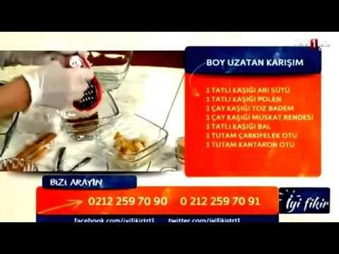 16 Yaşında Boy Uzatan Kür Dr. Hayri Gözlükgiller (Şifa Market 0224 234 56 78) - YouTube