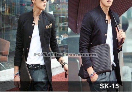 jual jas blazer jaket korea murah online (sk 15)