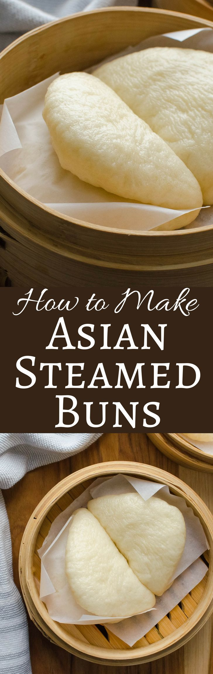 If you love Bao Buns, but have never made them, get this step-by-step recipe that will teach you how to make Asian Steamed Buns at home!