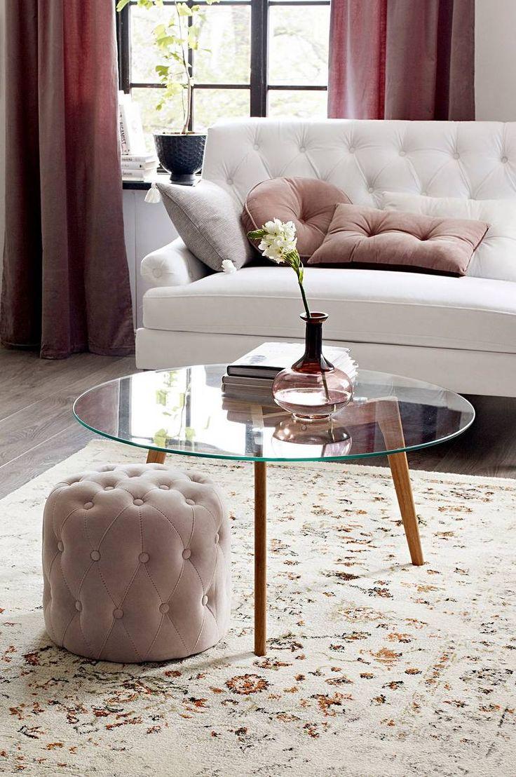 Malevik MALEVIK soffbord ø 90 cm - Glas - Möbler - Jotex.se