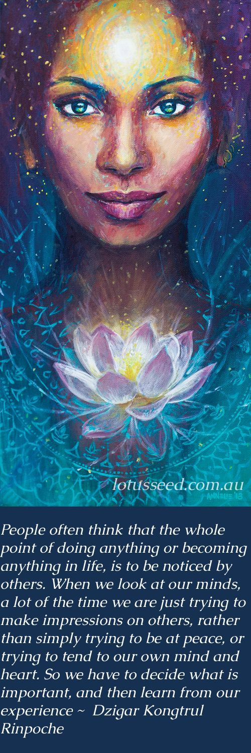 Dzigar Kongtrul Rinpoche - Buddhist Zen quotes by lotusseed.com.au