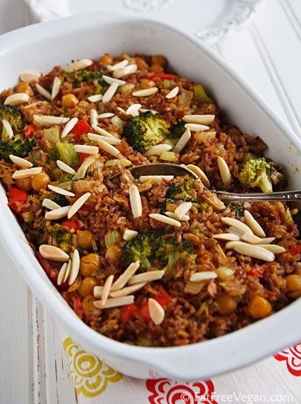 We love this recipe for creamy broccoli  and rice casserole.
