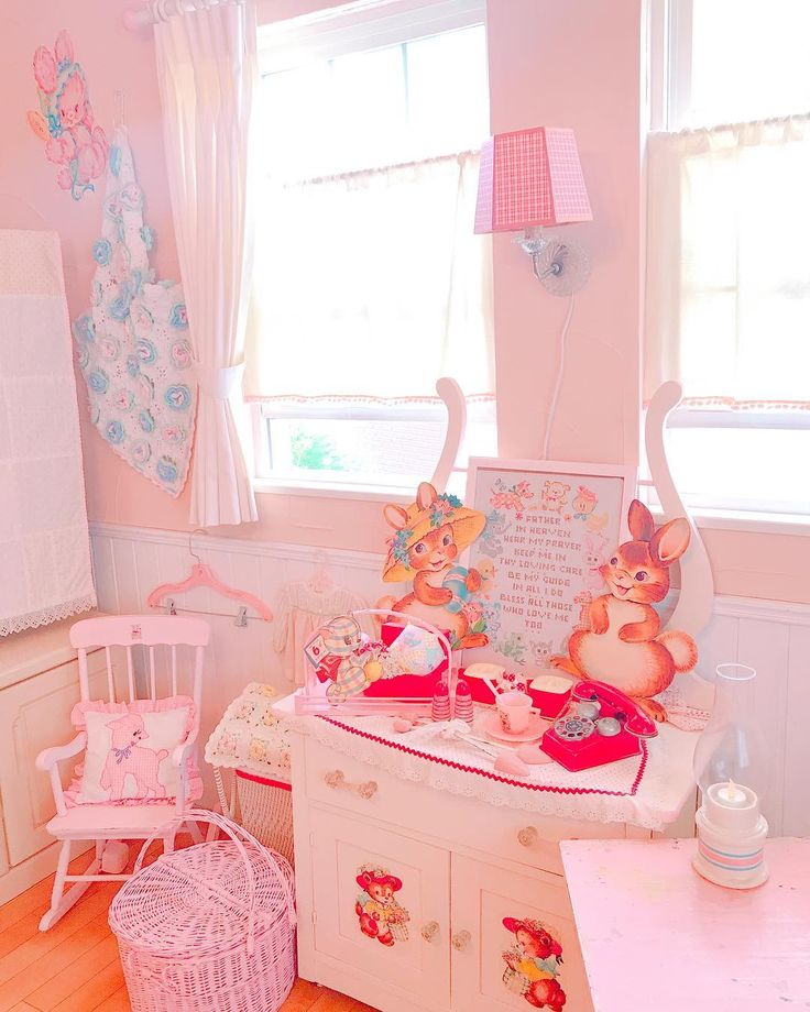 Sweet Retro Kitsch Bedroom! www.CuteVintageToys.com  Hundreds Of Kawaii Vintage Toys From The 80s & 90s! Follow Me & Use The Coupon Code PINTEREST For 10% Off Your ENTIRE Order!  Dozens of G1 My Little Ponies, Polly Pockets, Popples, Strawberry Shortcake, Care Bears, Rainbow Brite, Moondreamers, Keypers, Disney, Fisher Price, MOTU, She-Ra Cabbage Patch Kids, Dolls, Blues Clues, Barney, Teletubbies, ET, Barbie, Sanrio, Muppets, & Fairy Kei Cuteness!