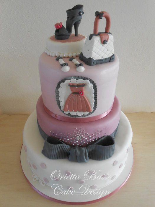 Fashionista Cake Fashion Amp Diva Birthday Parties