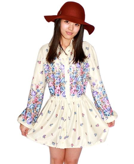 Daisy flowers dress $49      https://www.etsy.com/shop/Bazarodrome