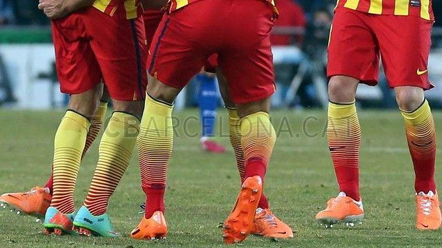 FC Barcelona, Danza de zapatos de colores   FOTO: MIGUEL RUIZ - FCB