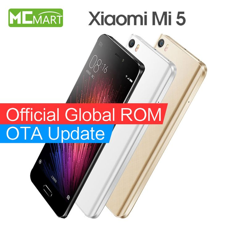 Original Xiaomi Mi5 Pro Prime smartphone In Stock Mi 5 Snapdragon 820 3000mAh Dual SIM Card 4K Video Mobile Phones [Affiliate]
