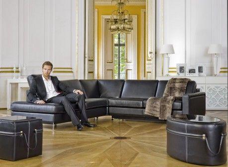 Zestaw wypoczynkowy: kanapa i fotel / sofa and armchair Kler Can Can – W110