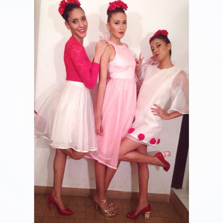 Backstage Desfile rosado liga contra el cáncer Ibagué