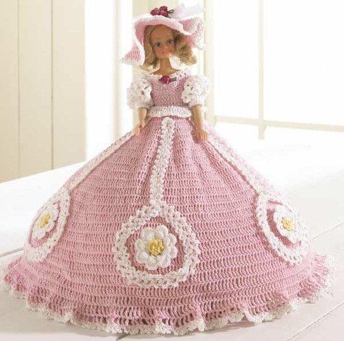 Plantation Stroll Fashion Doll Crochet Pattern