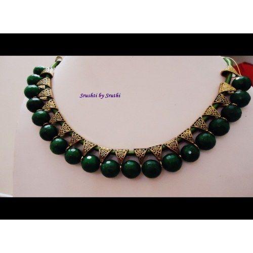 Choker Necklace Green