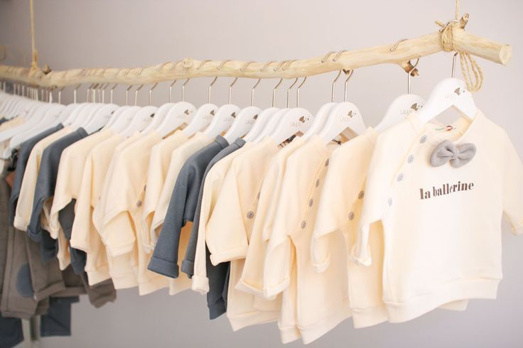 Showroom galazki.pl hanger with baby clothes Organic ZOO