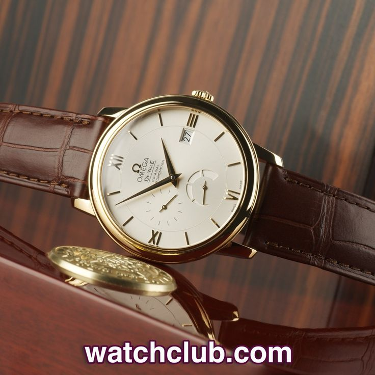 """Omega De Ville Yellow Gold - """"Latest Model"""" REF: 424.53.40.21.02.002   Year 2013 - Clean, classic and totally unworn... The 39.5mm case of this 18ct yellow gold Omega DeVille Prestige Power Reserve houses the automatic chronometer rated calibre 2627 with Co-Axial escapement and 48 hour power reserve. The yellow gold hands and numerals are matched by the applied gold Omega logo and 18ct yellow gold pin buckle - for sale at Watch Club, 28 Old Bond Street, Mayfair, London"""