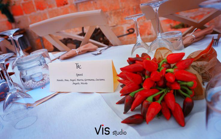 #matrimonio #wedding #weddingpuglia #matrimoniosalento #particolare #tavolo #segnaposto #visstudio #tavolosposi #grottaglie #details #sala #cerimoniacivile #francavillafontana #peperoncini