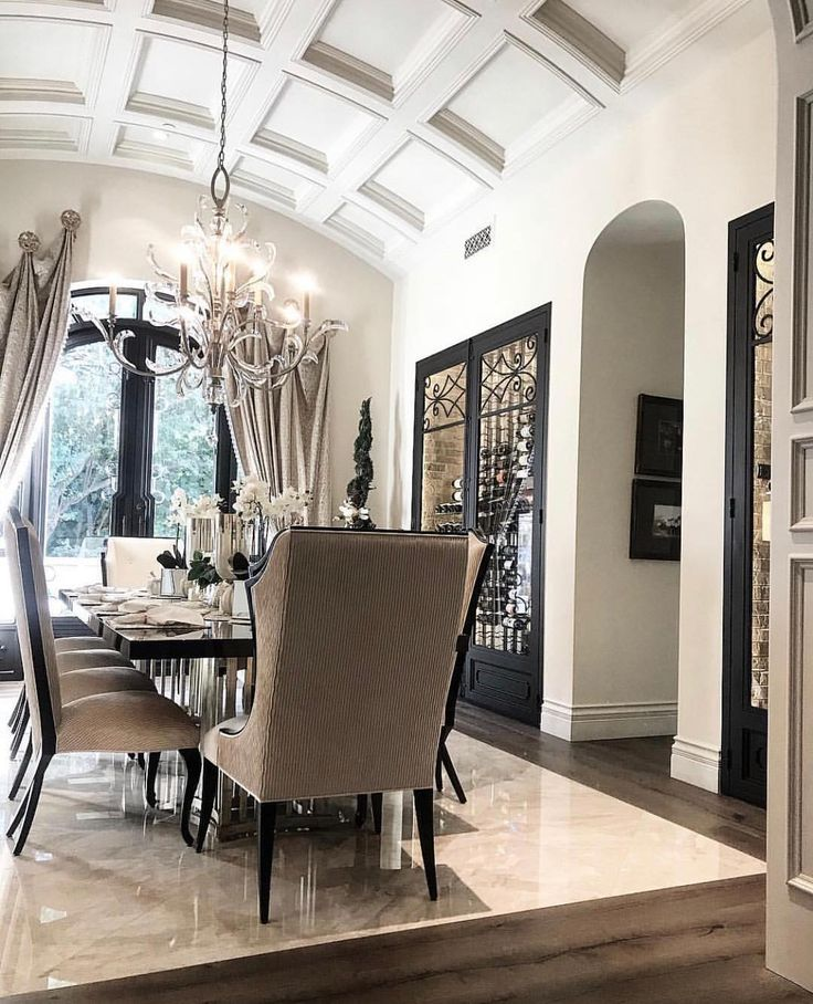So Much To Love About This Beautiful Dining Room By