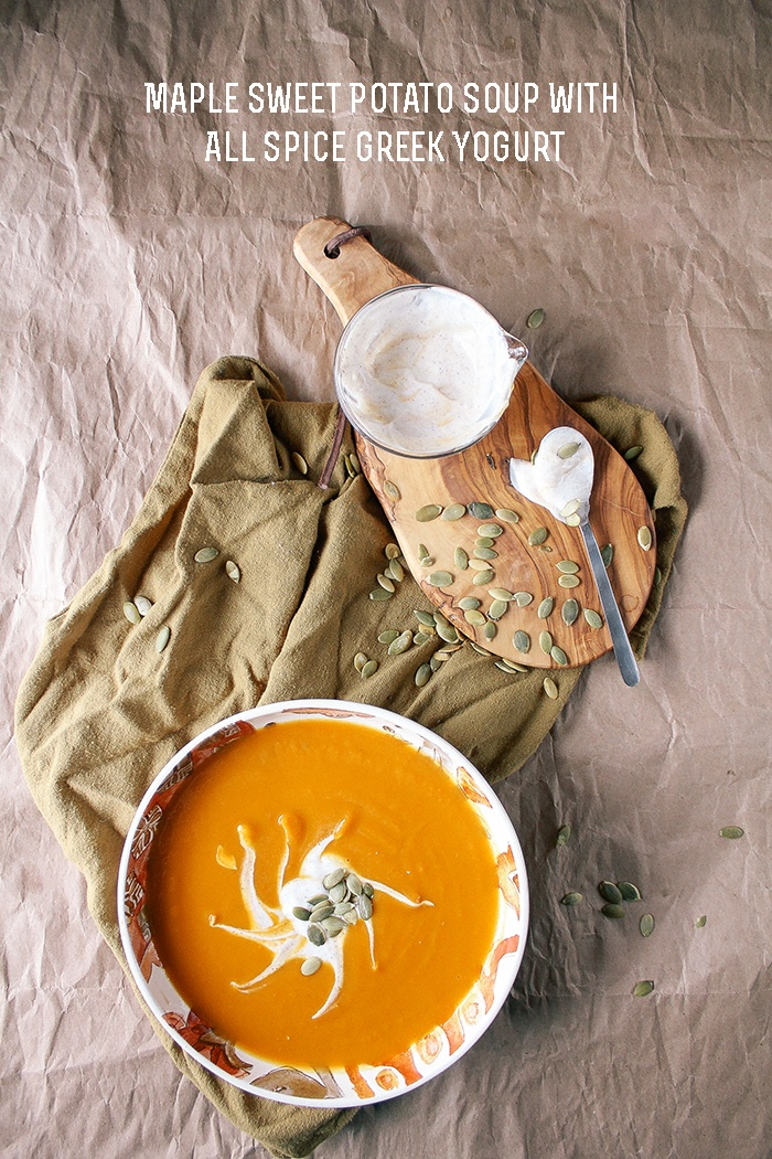 The weather might be warmin' up, but it's always soup season.