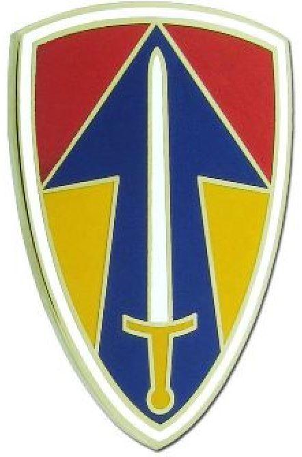 II FIELD FORCE VIETNAM, COMBAT SERVICE IDENTIFICATION BADGE