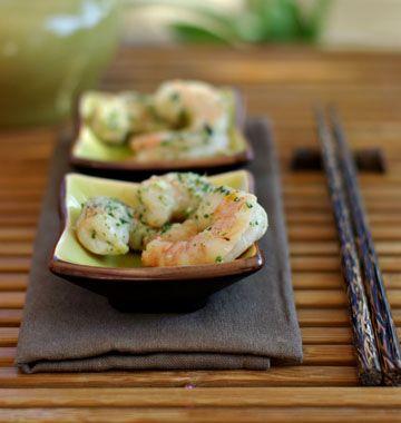 Crevettes marinées grillées, la recette d'Ôdélices : retrouvez les ingrédients, la préparation, des recettes similaires et des photos qui donnent envie !