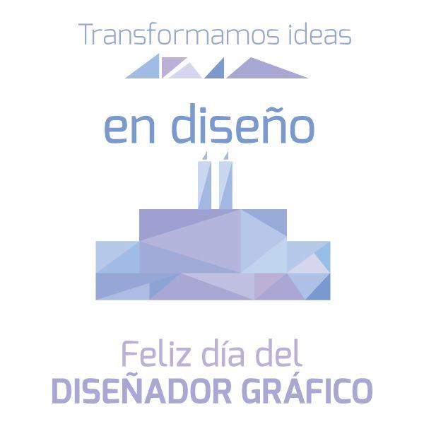 Ideas convertidas en diseño. ¡Feliz día Diseñadores!
