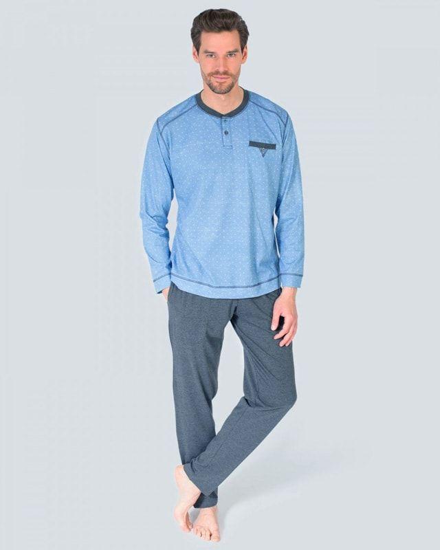 e94a01a8d7e Somos especialistas en pijamas para hombre desde 1999. Nuevo modelo de  tejido fino confeccionado en algodón. Envíos en 24/48 horas