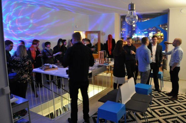 Sidosryhmä- ja pikkujoulutilaisuus 9.12.2014. Oli mukavaa jutella ryhmäläistemme kanssa.