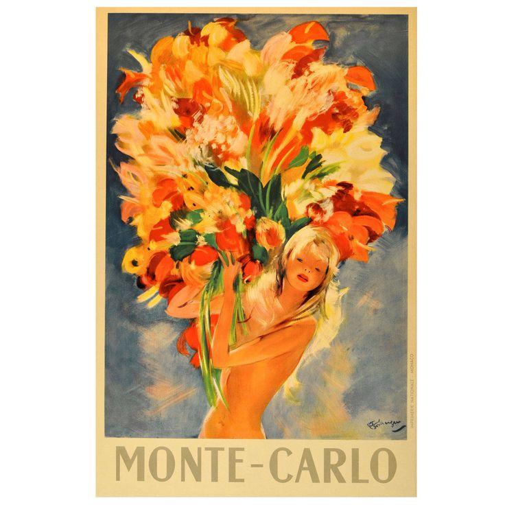 Artist: Jean Gabriel Domergue Title: Monte Carlo