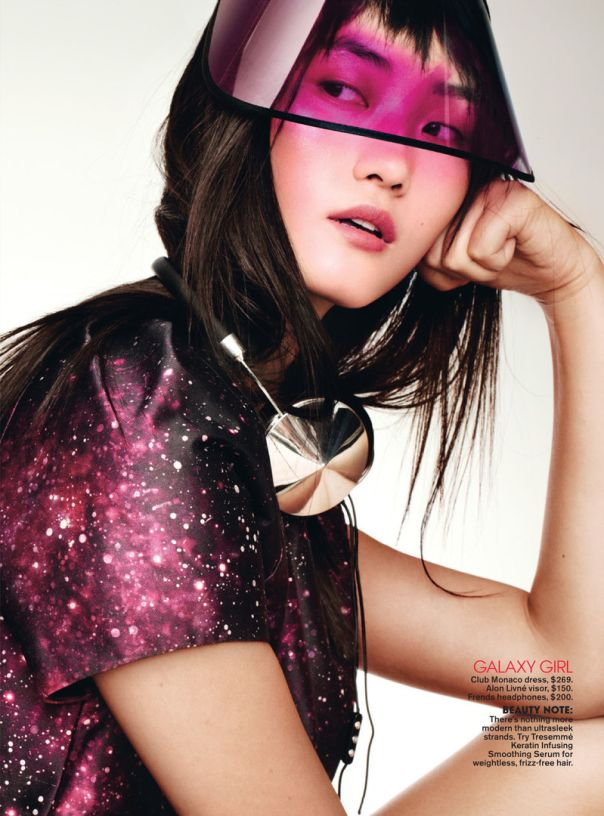 Lina Zhang and Lily Zhi by Jason Kibbler for Teen Vogue December January 2013-2014 3