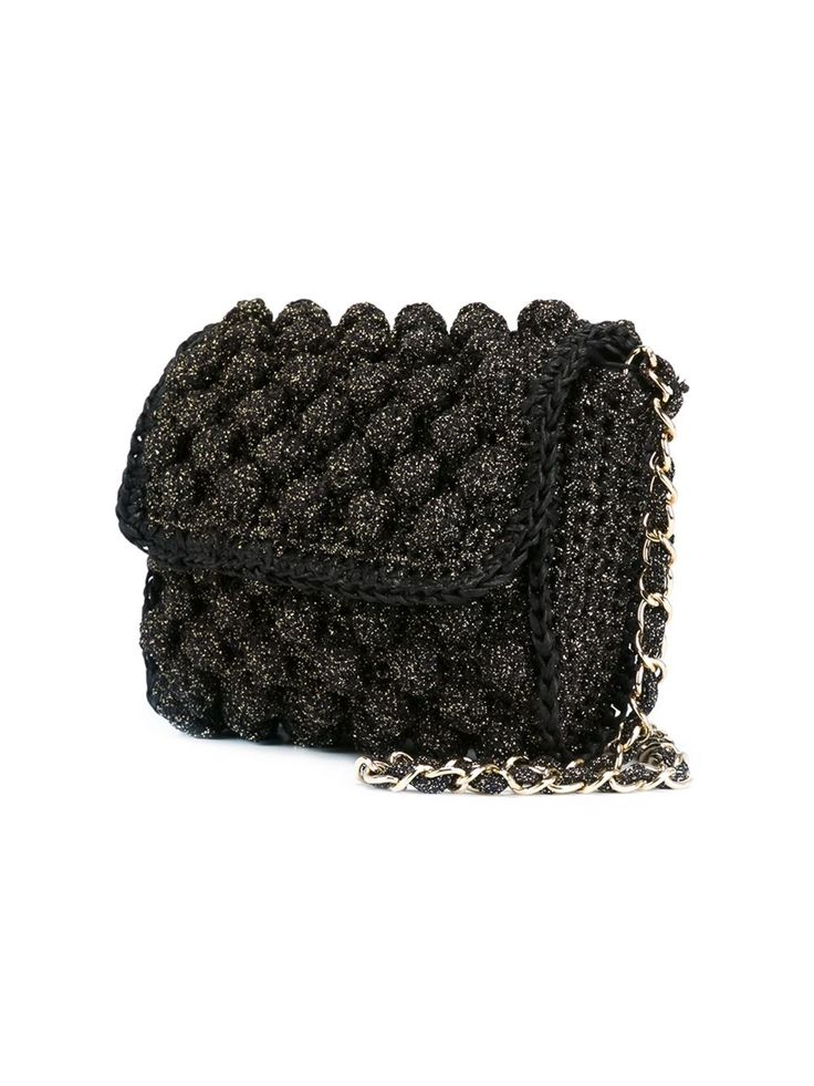 M Missoni knitted cross body bag
