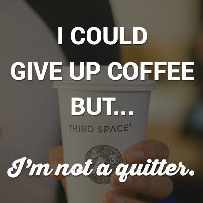 Third Space Coffee Saying