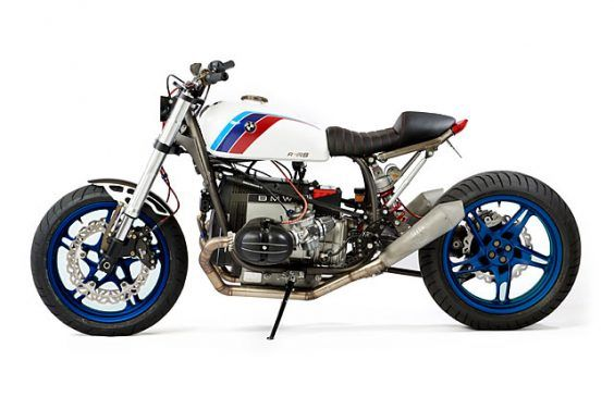 'BMW Motosport' '79 R100RS Racer –JRM Motorcycle