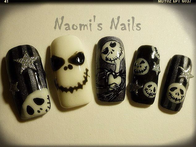 34 best gel nail designs images on pinterest gel nail designs jack halloween nail design 2012 prinsesfo Choice Image