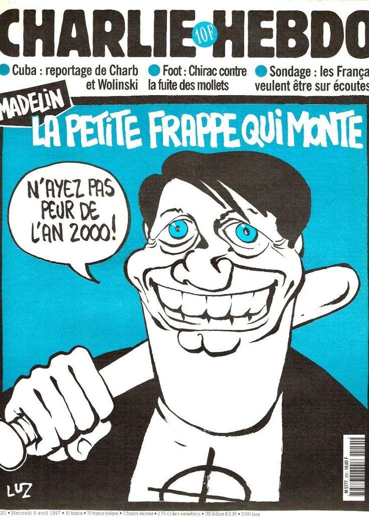 Charlie Hebdo - # 251 - 9 Avril 1997 - Couverture : Luz