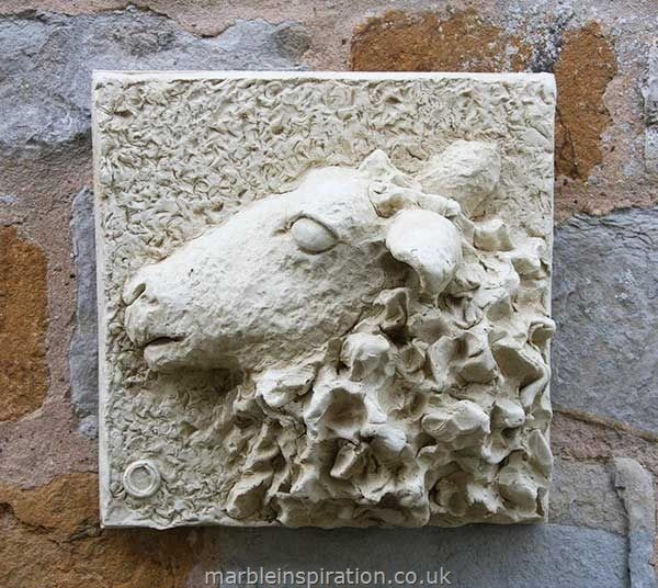 Garden Wall Plaques Animal Wall Plaques Ewe Wall
