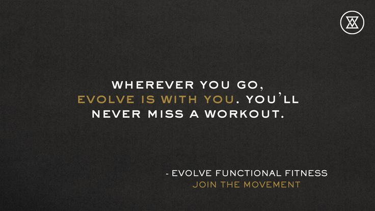 Never miss a workout. Join the movement. http://evolvefunctionalfitnesss.com #builttomove #workout #fitness